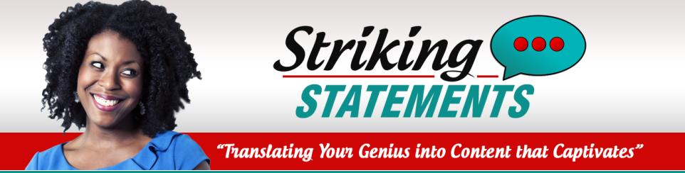 striking statement banner 1